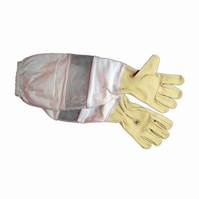 Ventilated Leather Gloves