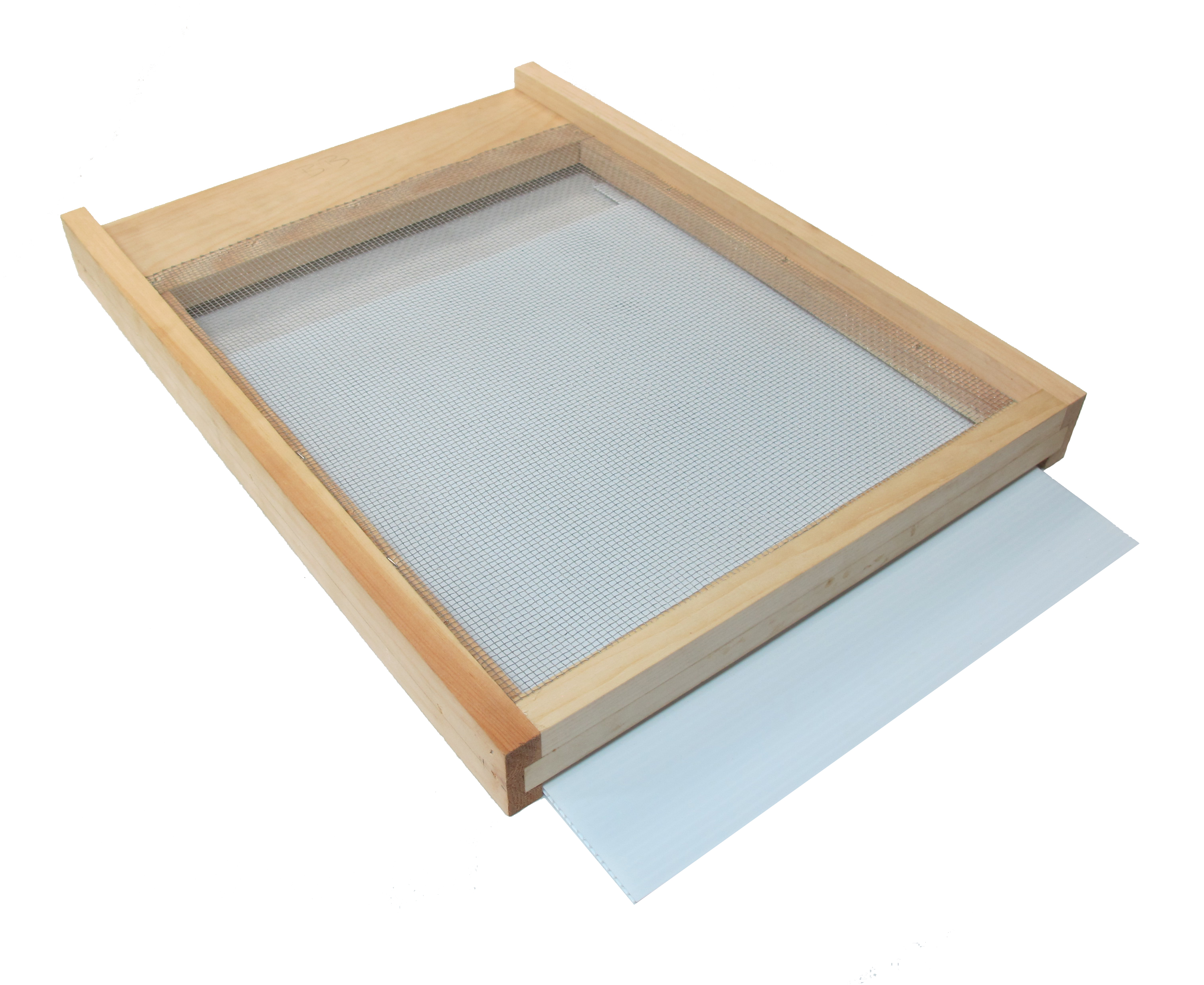 Screened Bottom Board - With Plastic Tray