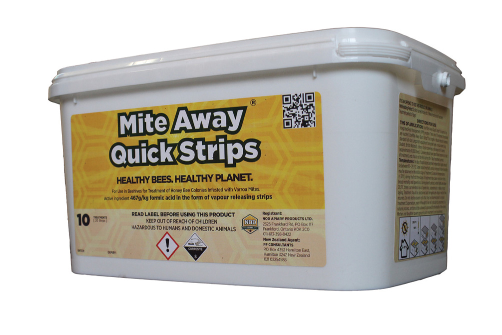 Mite Away Strips 10 Dose