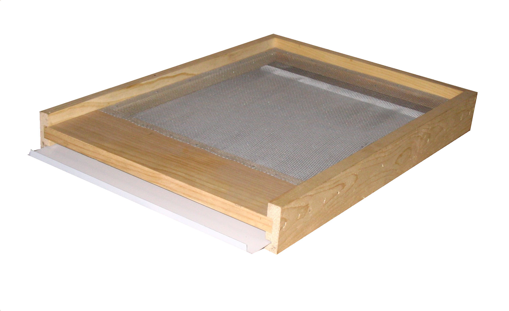 Screened Bottom Board -With Metal Tray